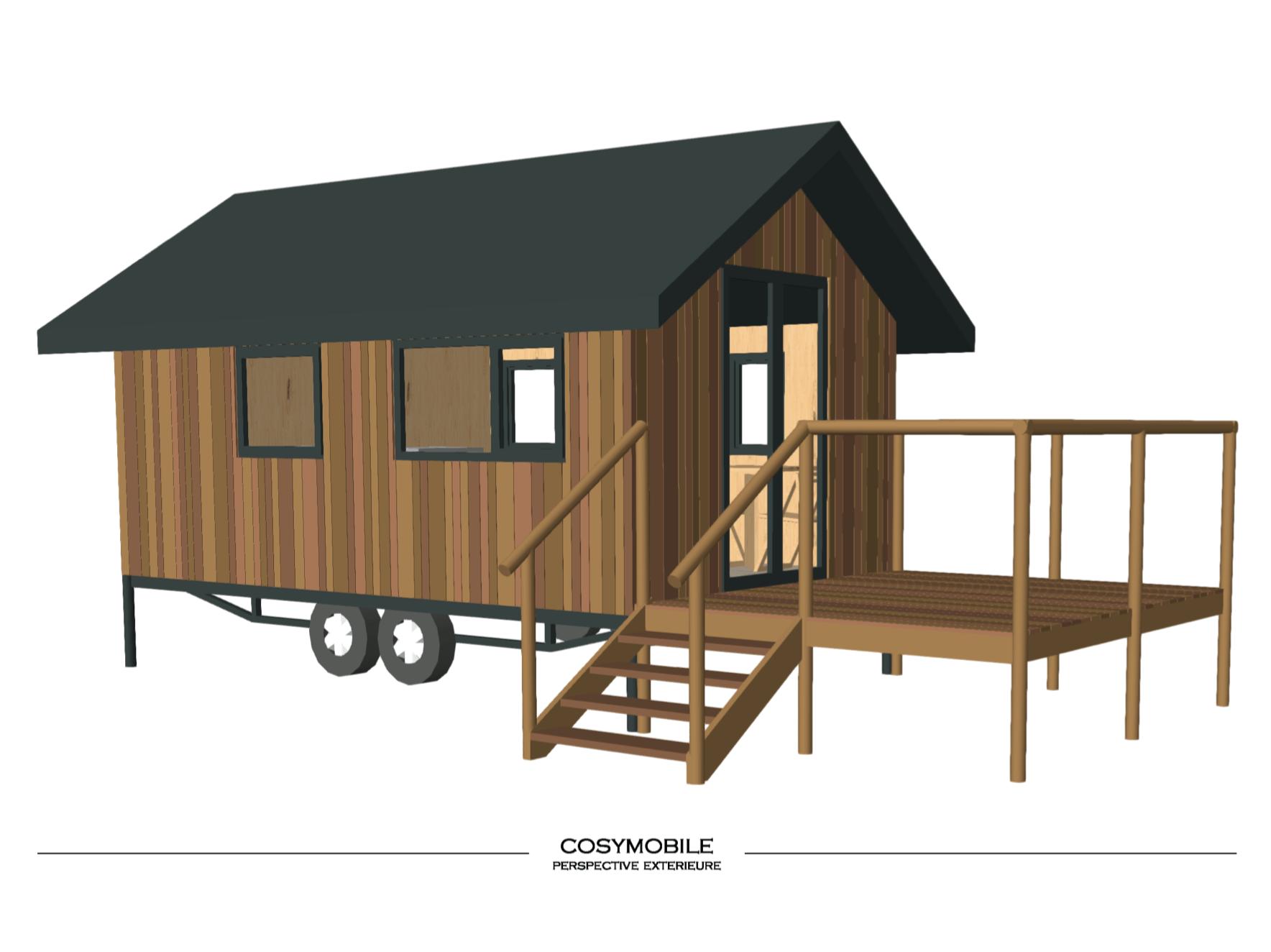 Cosymobile - CASArbor, maisons en bois, résidences et maisons de vacances