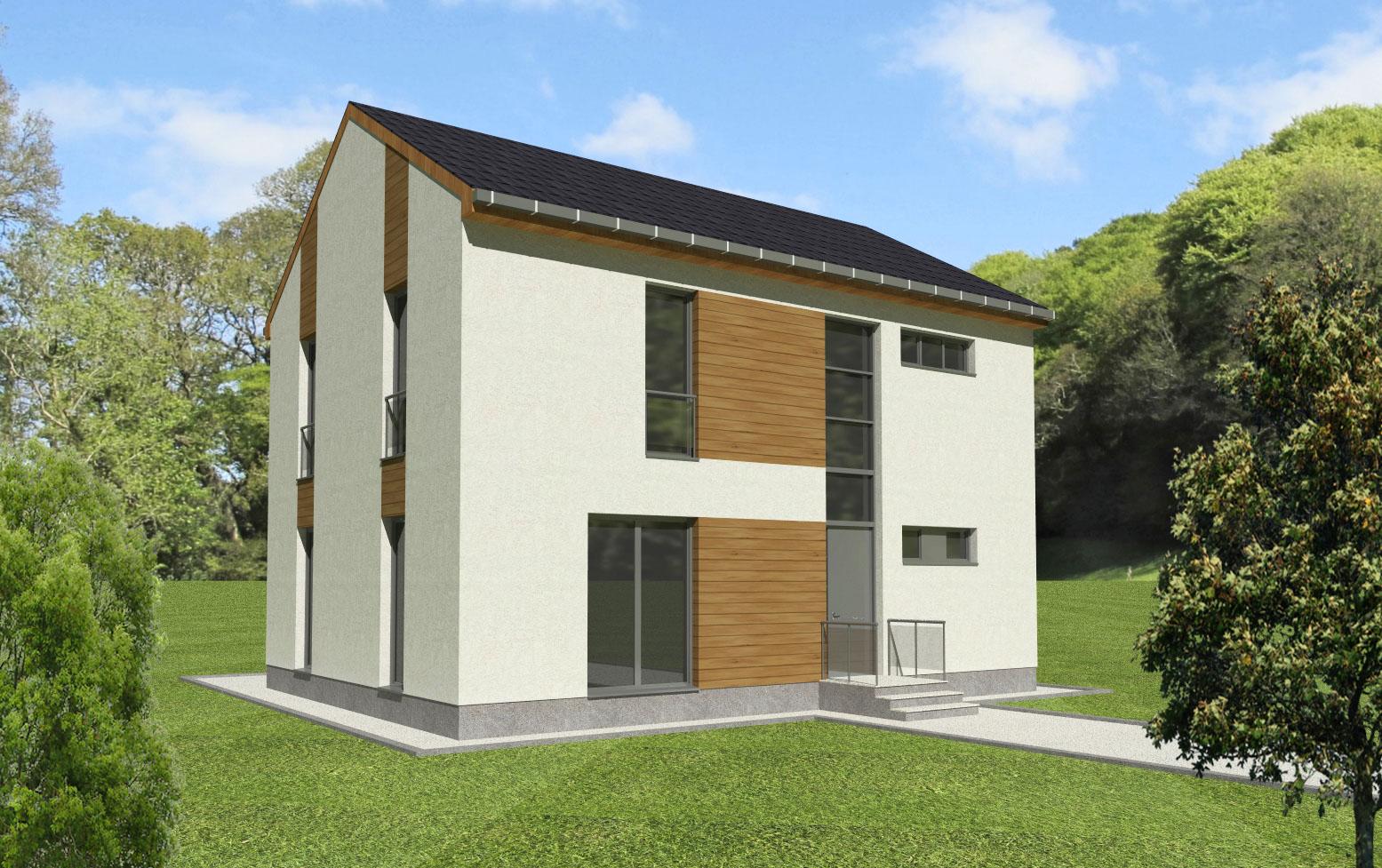 Maison en bois Casiopeea