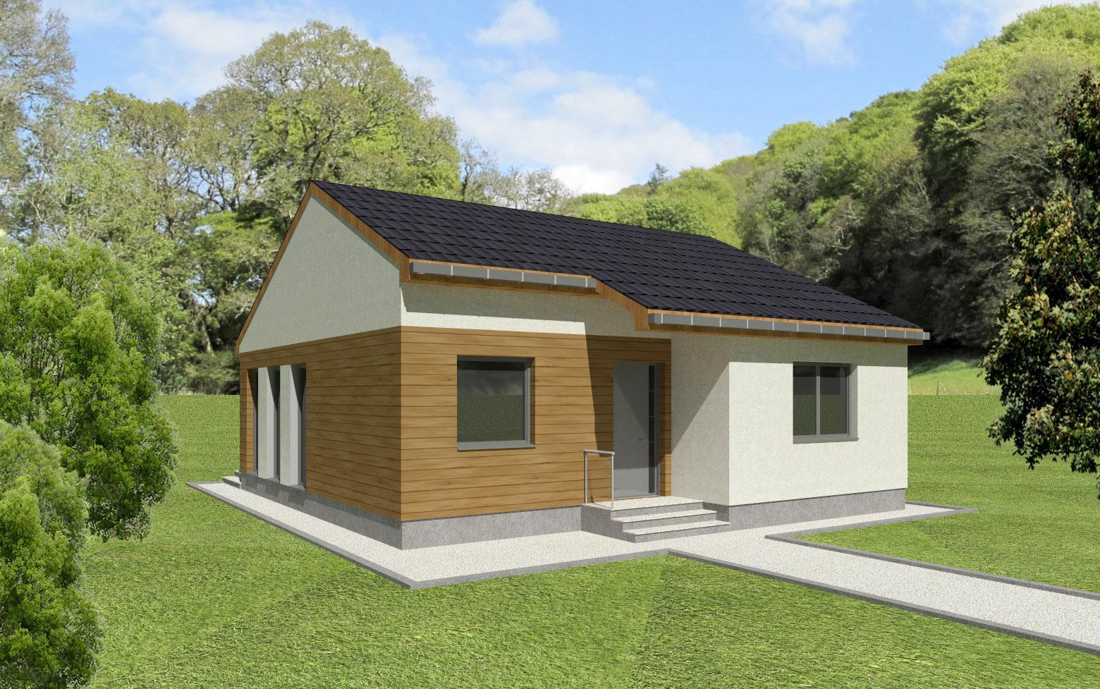 Maison en bois Egniatia