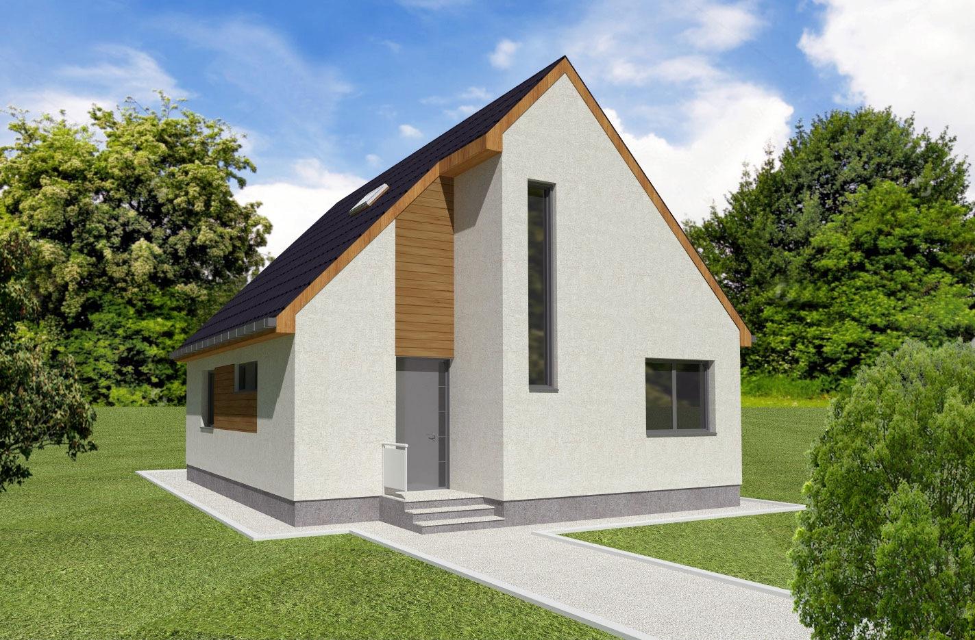 Maison en bois Electra