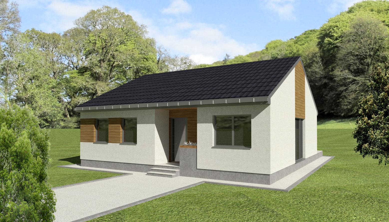 Maison en bois Hesthia