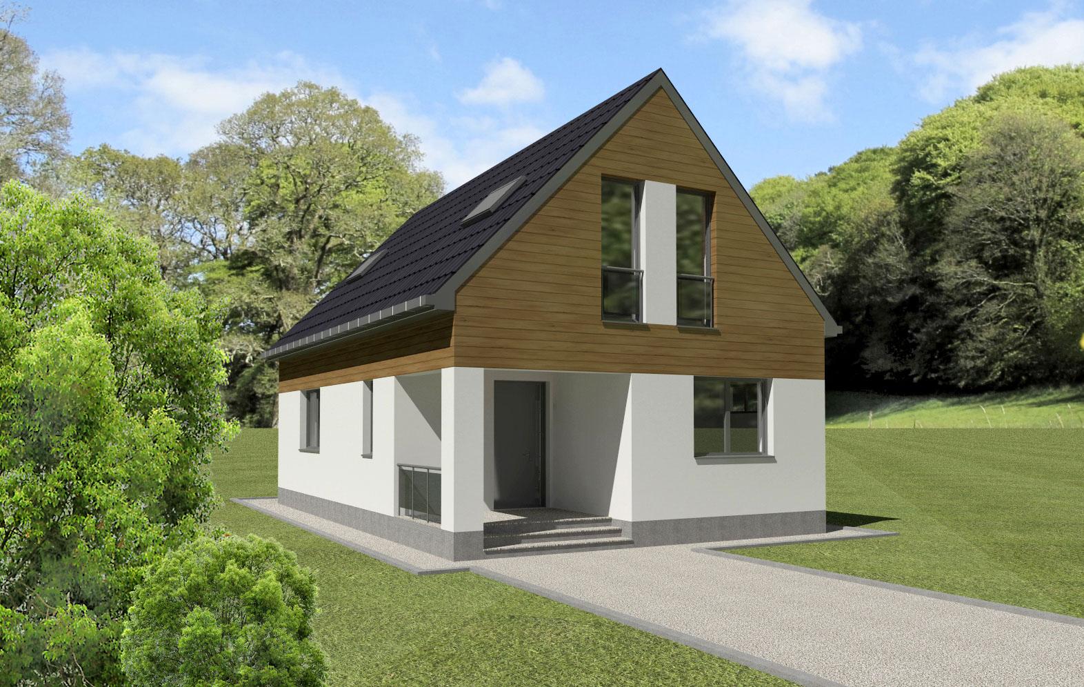 Maison en bois Iphigenia