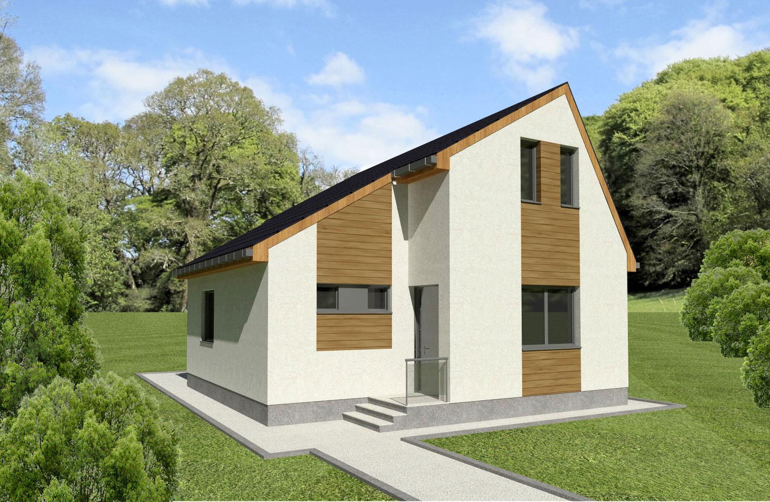 Maison en bois Kassandra