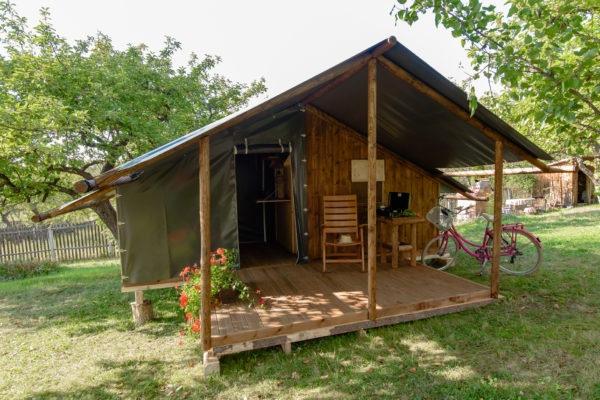 Cabane en bois Campeur