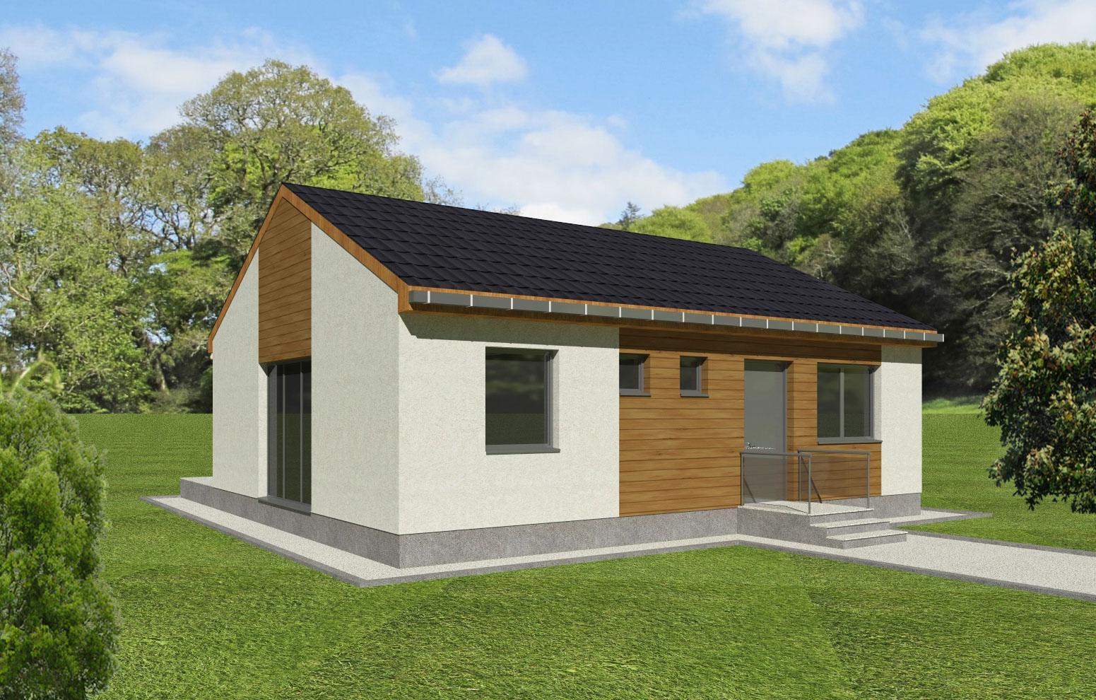 Maison en bois Naias