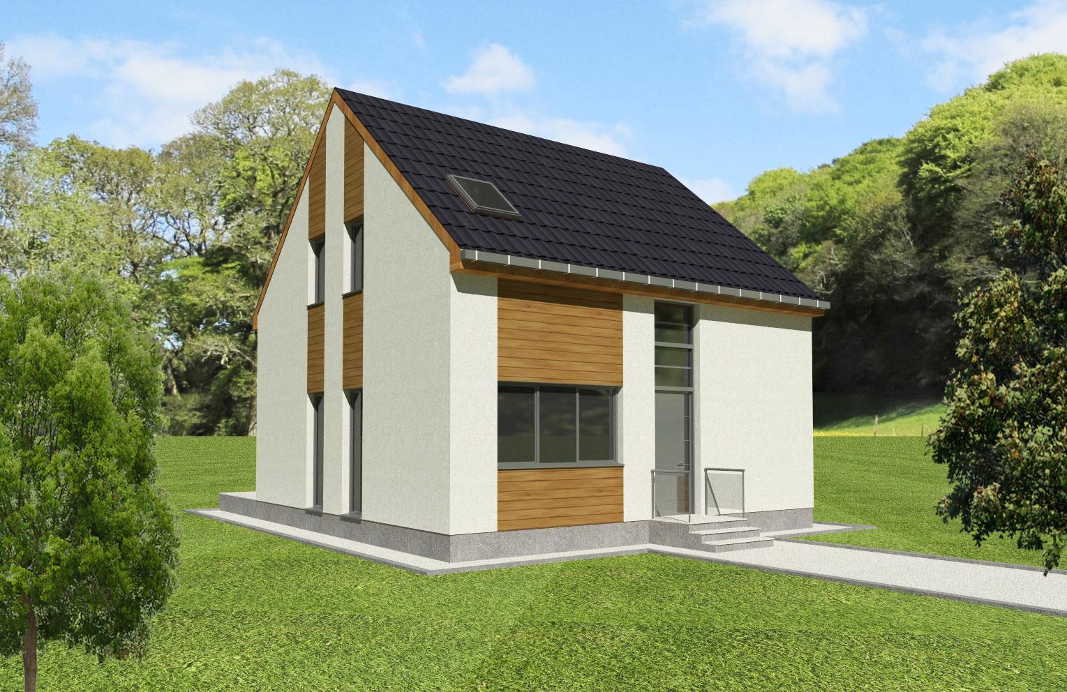 Maison en bois Sithonia