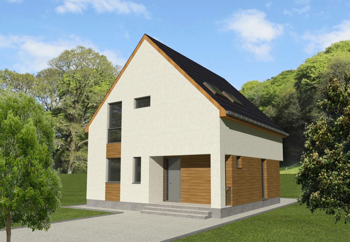 Maison en bois Theodosia